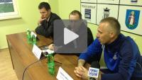 Sandecja - KS Polkowice 2-1 (0-1), pomeczowa konferecja prasowa