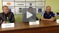 Sandecja - Bogdanka Łęczna 1-4 (1-2), konferencja prasowa