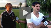 Okocimski Brzesko - Sandecja 0-0, pomeczowy wywiad