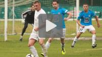 Okocimski Brzesko - Sandecja Nowy Sącz 0-0, skrót meczu sparingowego
