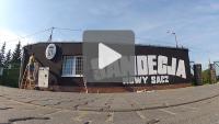 Kibice odnowili ścianę starego budynku klubowego