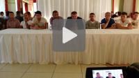 Przedsezonowe spotkanie kibiców z trenerem i piłkarzami