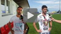 Polonia Bytom - Sandecja, przedmeczowa rozmowa z zawodnikami
