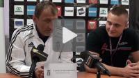 Polonia Bytom - Sandecja 0-1 (0-0), pomeczowa konferenca prasowa