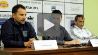 Sandecja - Olimpia Grudziądz 2-0, pomeczowa konferencja