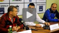 Sandecja - GKS Tychy 1-2 (1-2), pomeczowa konferencja
