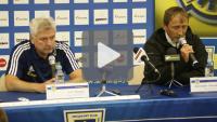 Arka Gdynia - Sandecja 3-0, (2-0), pomeczowa konferencja prasowa