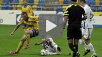 Arka Gdynia - Sandecja 3-0, (2-0), skrot meczu