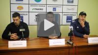 Sandecja - Dolcan Ząbki 2-1 (0-0), pomeczowa konferencja
