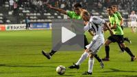 Sandecja - Dolcan Ząbki 2-1 (0-0), skrót meczu