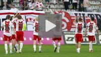 ŁKS Łódź - Sandecja 3-2 (3-1), bramki z meczu