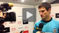 Cracovia - Sandecja 1-0, pomeczowa rozmowa z Marcinem Cabajem