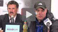 Cracovia - Sandecja 1-0, pomeczowa konferencja prasowa