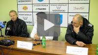Sandecja - Bogdanka Łęczna 1-0, pomeczowa konferencja