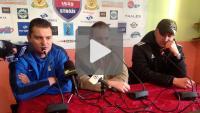 Kolejarz Stróże - Sandecja 1-0 (0-0), pomeczowa konferencja