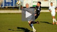 Kolejarz Stróże - Sandecja 1-0 (0-0), skrót meczu
