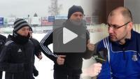 Pierwszy trening i rozmowa z trenerem Januszem Świeradem