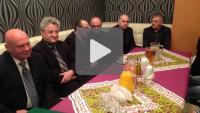 Noworoczne spotkanie władz miasta z pracownikami MKS Sandecja
