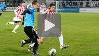 Cracovia - Sandecja 1-1 (0-1), skrót meczu sparingowego