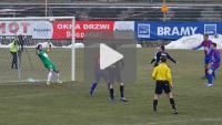Sandecja - Polonia Bytom 3-0, bramki z meczu