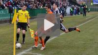 Sandecja - Termalica Bruk-Bet Nieciecza 0-0, skrót meczu