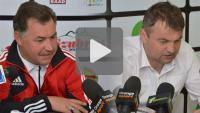 Sandecja - Miedź Legnica 1-0 (0-0), konferencja prasowa
