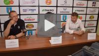 Sandecja - Stomil Olsztyn 0-2, pomeczowa konferencja prasowa