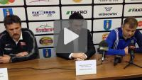 Cracovia - Sandecja 1-2 (1-1), konferencja prasowa