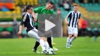 Bogdanka Łęczna - Sandecja 2-2 (0-2), skrót meczu
