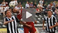 Sandecja - Kolejarz Stróże 1-2 (0-1), skrót meczu