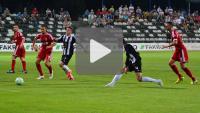 Sandecja - Miedź Legnica 0-0, skrót meczu