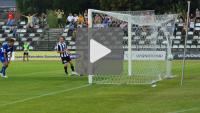 Sandecja - Flota Świnoujście 4-2 (2-1), Puchar Polski 1/16, skrót meczu
