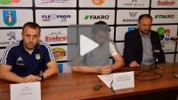 Sandecja - Arka Gdynia 0-3 (0-2), konferencja
