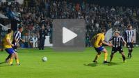Sandecja - Arka Gdynia 0-3 (0-2), skrót meczu