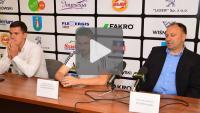 Sandecja - Dolcan Ząbki 1-0 (1-0), pomeczowa konferencja