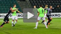 Sandecja - Dolcan Ząbki 1-0 (1-0), skrót meczu