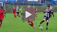 Kolejarz Stróże - Sandecja 0-0, skrót meczu