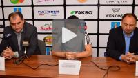 Sandecja - Puszcza Niepołomice 2-2 (1-2), konferencja prasowa