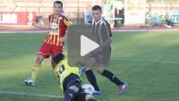 Chojniczanka Chojnice - Sandecja 1-0 (1-0), skrót meczu
