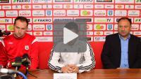 Sandecja - Stomil Olsztyn 1-0 (0-0), pomeczowa konferencja