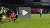 Sandecja - Widzew 2-2, (karne 5-4), Puchar Polski 1/8, skrót meczu