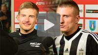 Sandecja - GKS Bełchatów 2-0 (1-0), wywiady