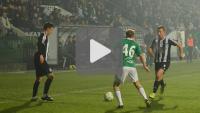 Sandecja - GKS Bełchatów 2-0 (1-0), skrót meczu