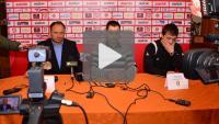 Okocimski Brzesko - Sandecja 0-0, konferencja prasowa