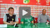 GKS Bełchatów - Sandecja 4-0 (2-0), pomeczowa konferencja
