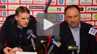 Sandecja - GKS Gieksa Katowice 1-0 (0-0), konferencja