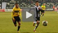 Sandecja - GKS Gieksa Katowice 1-0 (0-0), skrót meczu