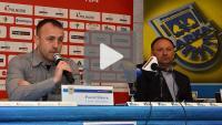 Arka Gdynia - Sandecja 0-0, pomeczowa konferencja