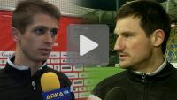 Arka Gdynia - Sandecja 0-0, Maciej Górski, Marcin Cabaj
