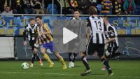 Arka Gdynia - Sandecja 0-0, skrót meczu